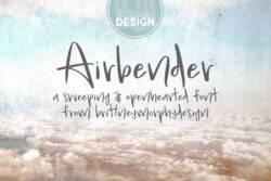 Airbender Font