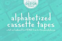 alphabetized cassette tapes featured image