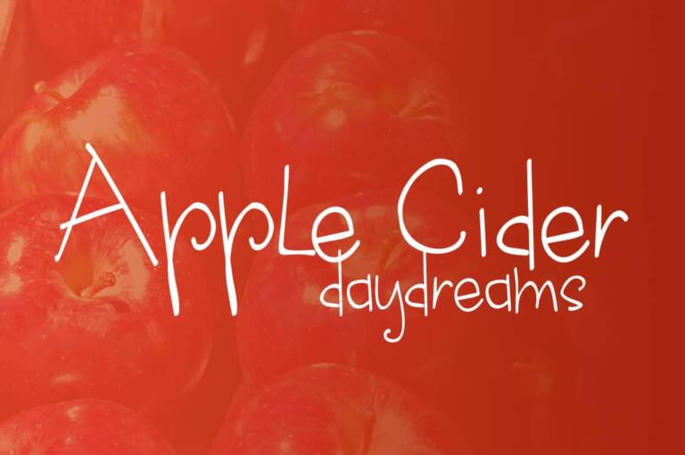 apple cider daydreams featured image
