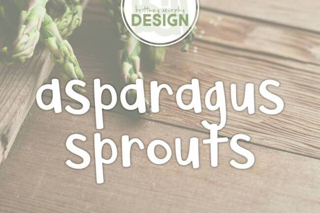 asparagus sprouts featured image