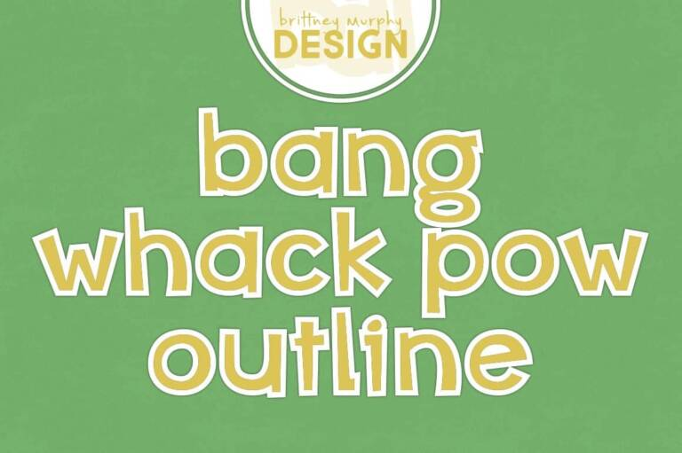 bang whack pow outline featured image