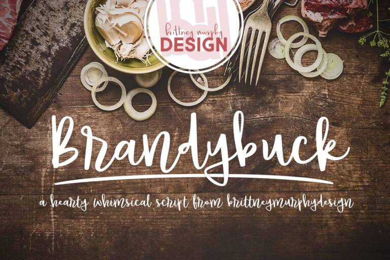 brandybuck font featured image