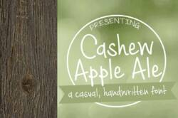 Cashew Apple Ale Font