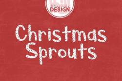 Christmas Sprouts Font