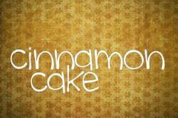 cinnamon cake featured image