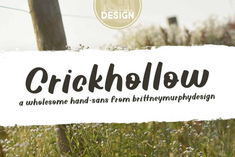 crickhollow font featured image