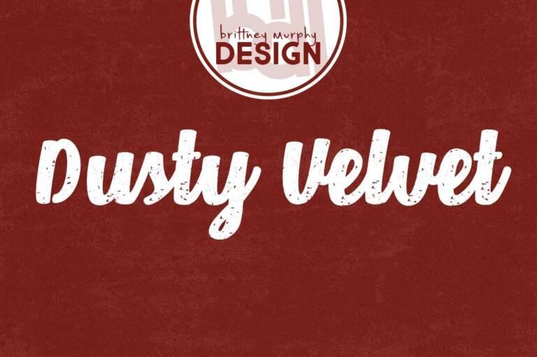 Dusty Velvet Font