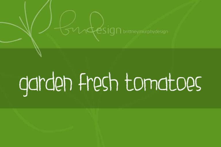 garden fresh tomatoes featured image