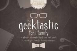 Geektastic Font Family