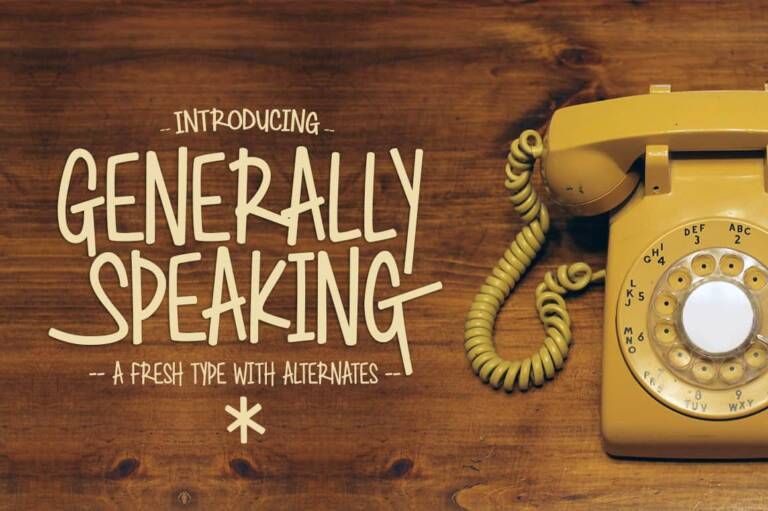 generally speaking featured image