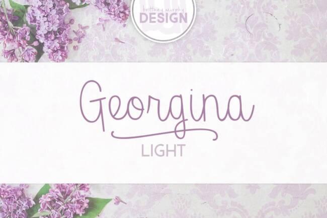 Georgina Light Font