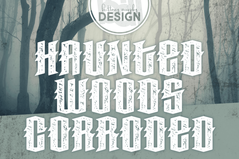 haunted woods corroded featured image