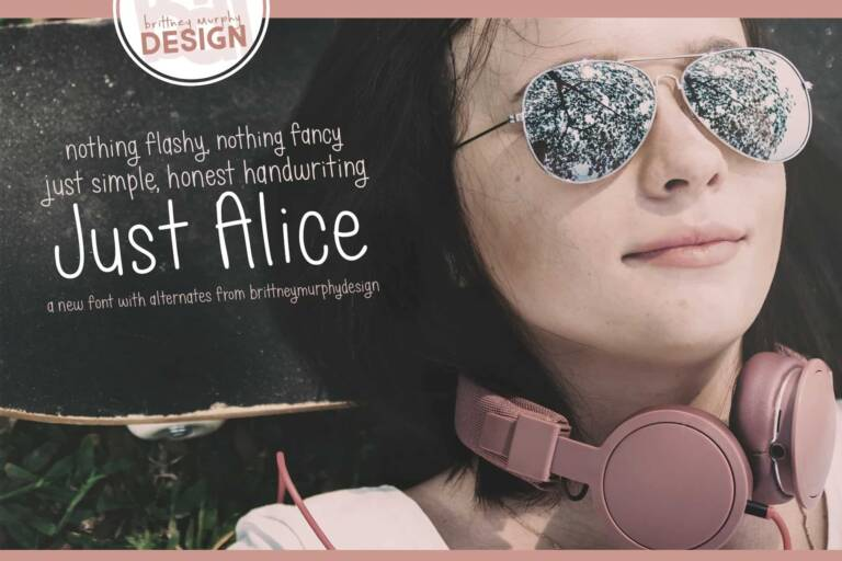 Just Alice Font