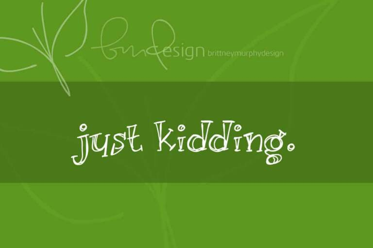 just kidding featured image