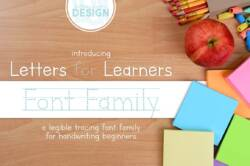 letters for learners font family featured image