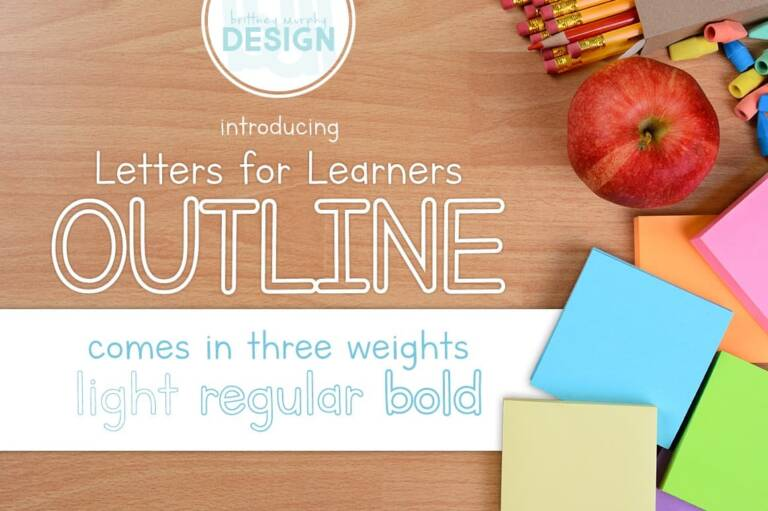 letters for learners outline featured image