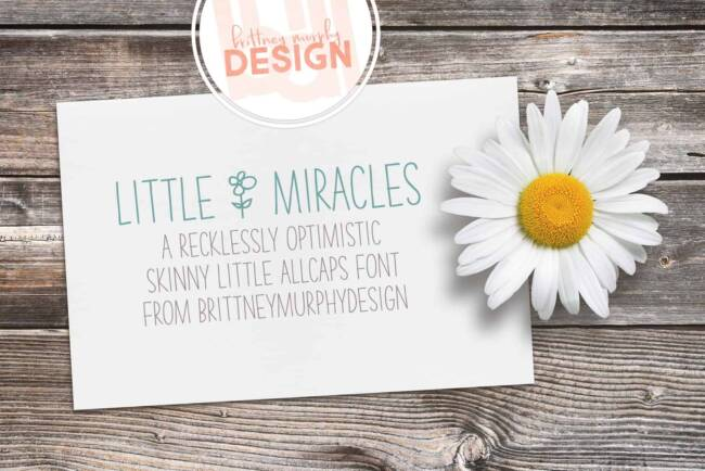 Little Miracles Font