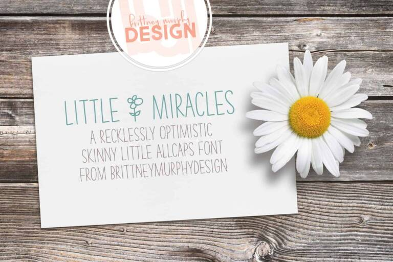 Little Miracles Font