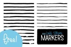 Free Long Stoke Makers For Illustrator