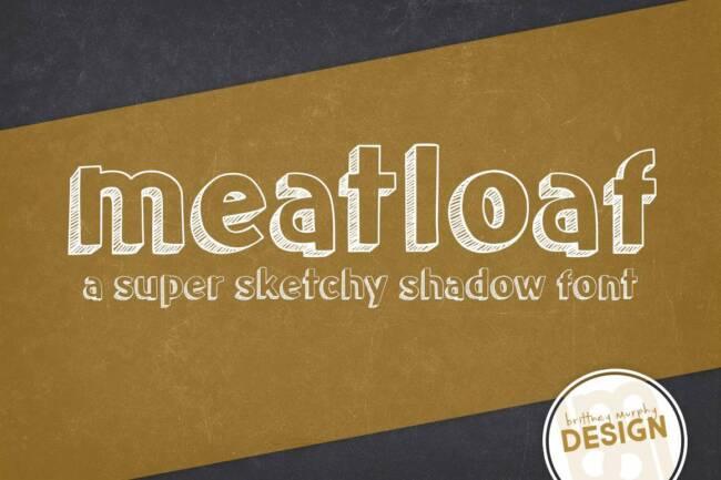 Meatloaf Font
