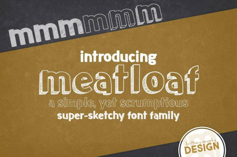 meatloaf font family featured image