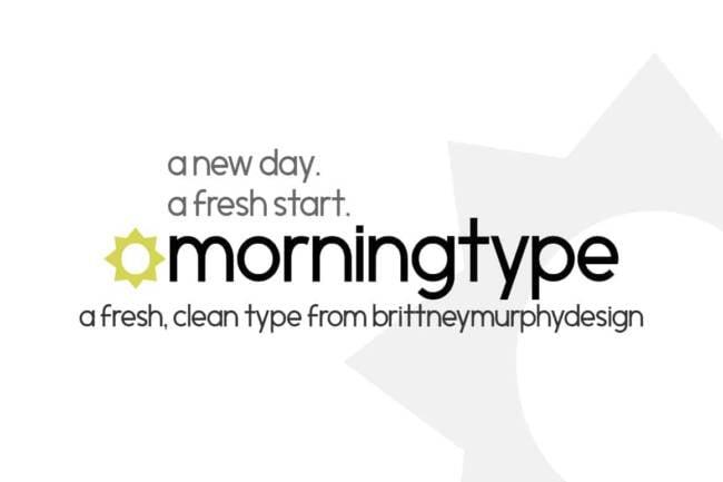 Morningtype Font