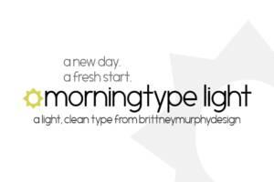 Morningtype Light Font
