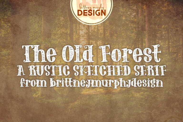 old forest font featured image