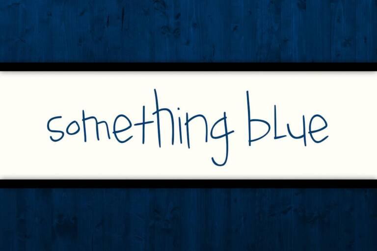 something blue featured image