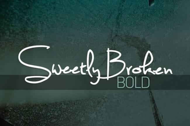 Sweetly Broken Bold Font