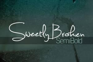 Sweetly Broken Semibold Font