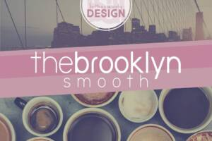 The Brooklyn Smooth Font Family
