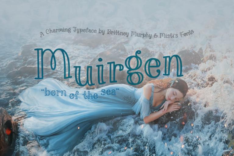 Muirgen Font Title Image