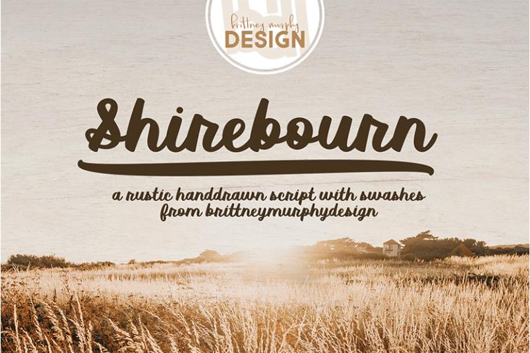 Shirebourn Font