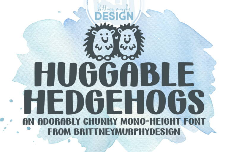 Hugglable Hedgehogs Regular Title