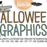 Halloween Graphics Title